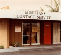 Musician's Contact Office, circa 1980