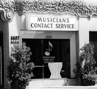 Musician's Contact Office, circa 1973