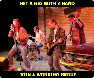Locate or Find bands or gigs for Musicians seeking gigs or employment