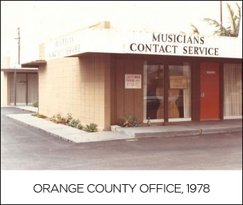 ORANGE COUNTY OFFICE, 1978