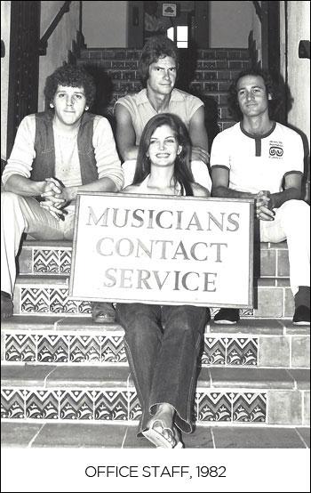 Office staff, 1982
